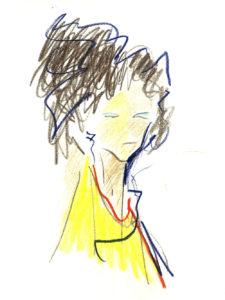 """""""Alexa"""", Roberto Pamio, 90 x 120 cm"""