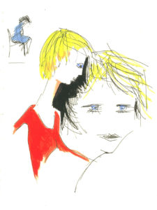 """Lisa"", Roberto Pamio, 90 x 120 cm"