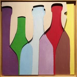 """Free Time"", Roberto Pamio, 100 x 100 cm"