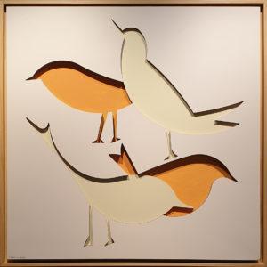 """Libertà"", Roberto Pamio, 150 x 150 cm"
