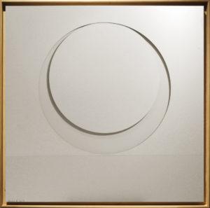 """Mediazione"", Roberto Pamio, 100 x 100 cm"