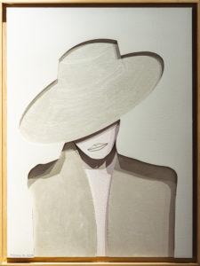 """Pensieri"", Roberto Pamio, 100 x 70 cm"