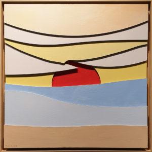 """Southampton"", Roberto Pamio, 100 x 100 cm"