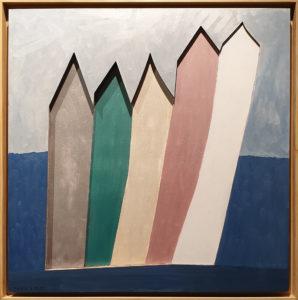 """""""Spiaggia"""", Roberto Pamio, 100 x 100 cm"""