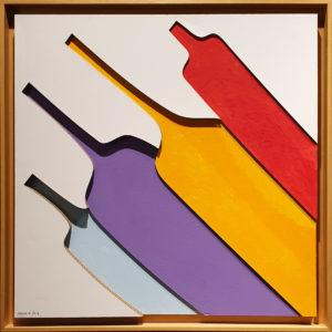"""Still Life"", Roberto Pamio, 100 x 100 cm"