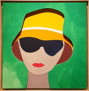 """Sunshine"", Roberto Pamio, 100 x 100 cm"